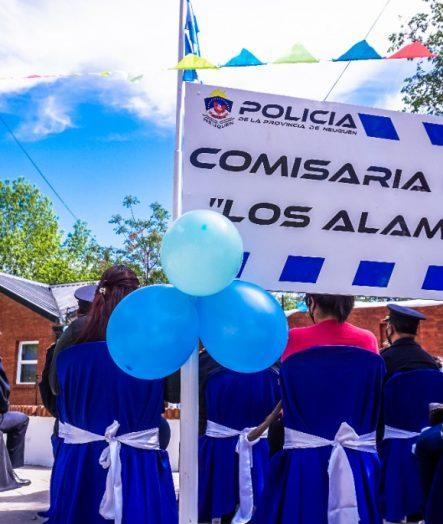 MUNICIPIO ACOMPAÑÓ LOS FESTEJOS DE LOS 15 AÑOS DE LA COMISARÍA 46°