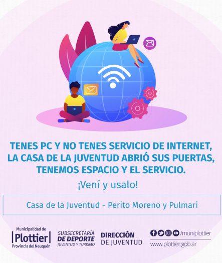 LA CASA DE LA JUVENTUD TE CONECTA